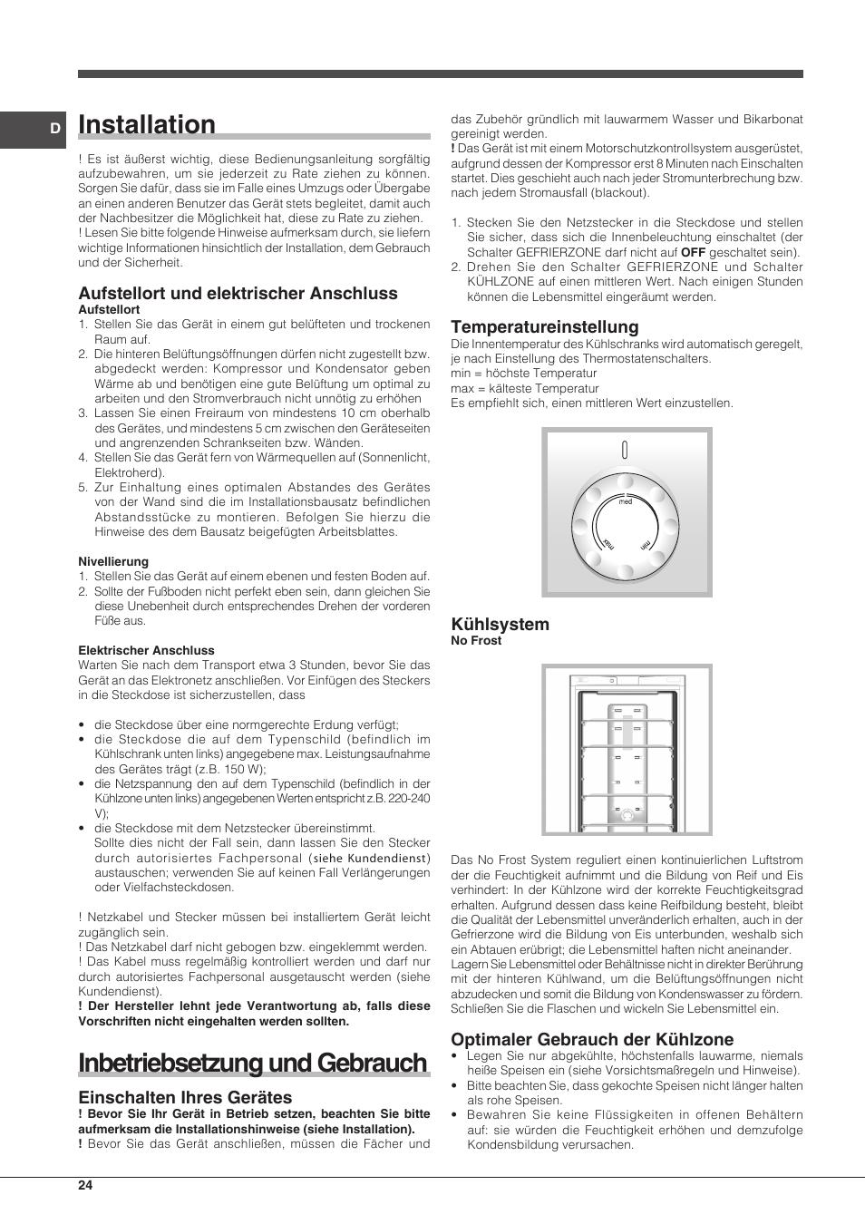 Ariston Gastherme Bedienungsanleitung