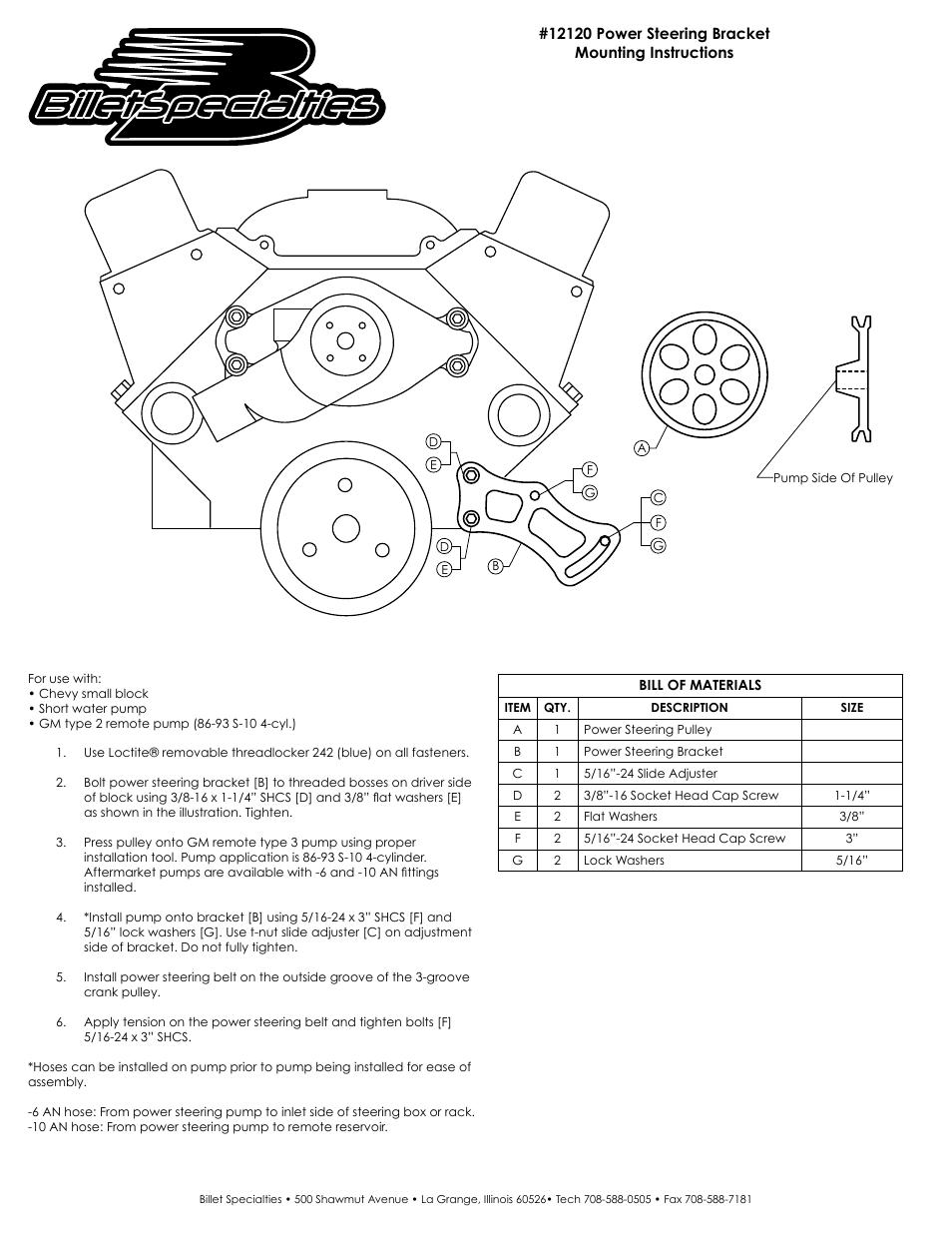 medium resolution of gm power steering pump diagram