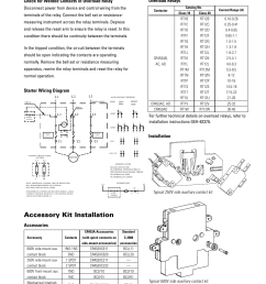 accessory kit installation overload relays starter wiring diagram installation ge industrial solutions cr454a [ 954 x 1235 Pixel ]