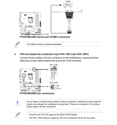 p7h55 m usb3 fan connectors asus p7h55 m usb3 user manual page 41 78 [ 954 x 1438 Pixel ]