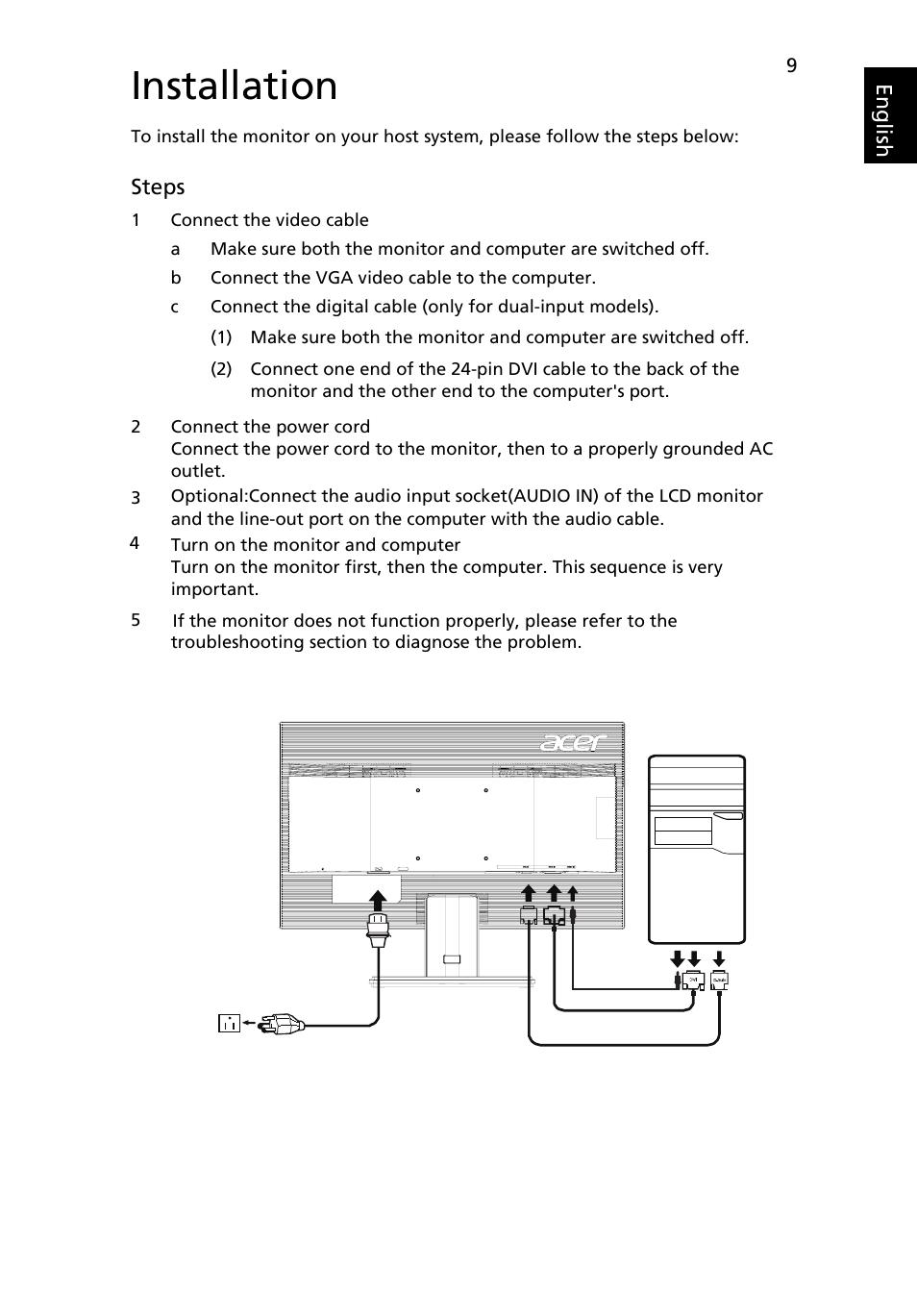 hight resolution of 24 pin vga diagram