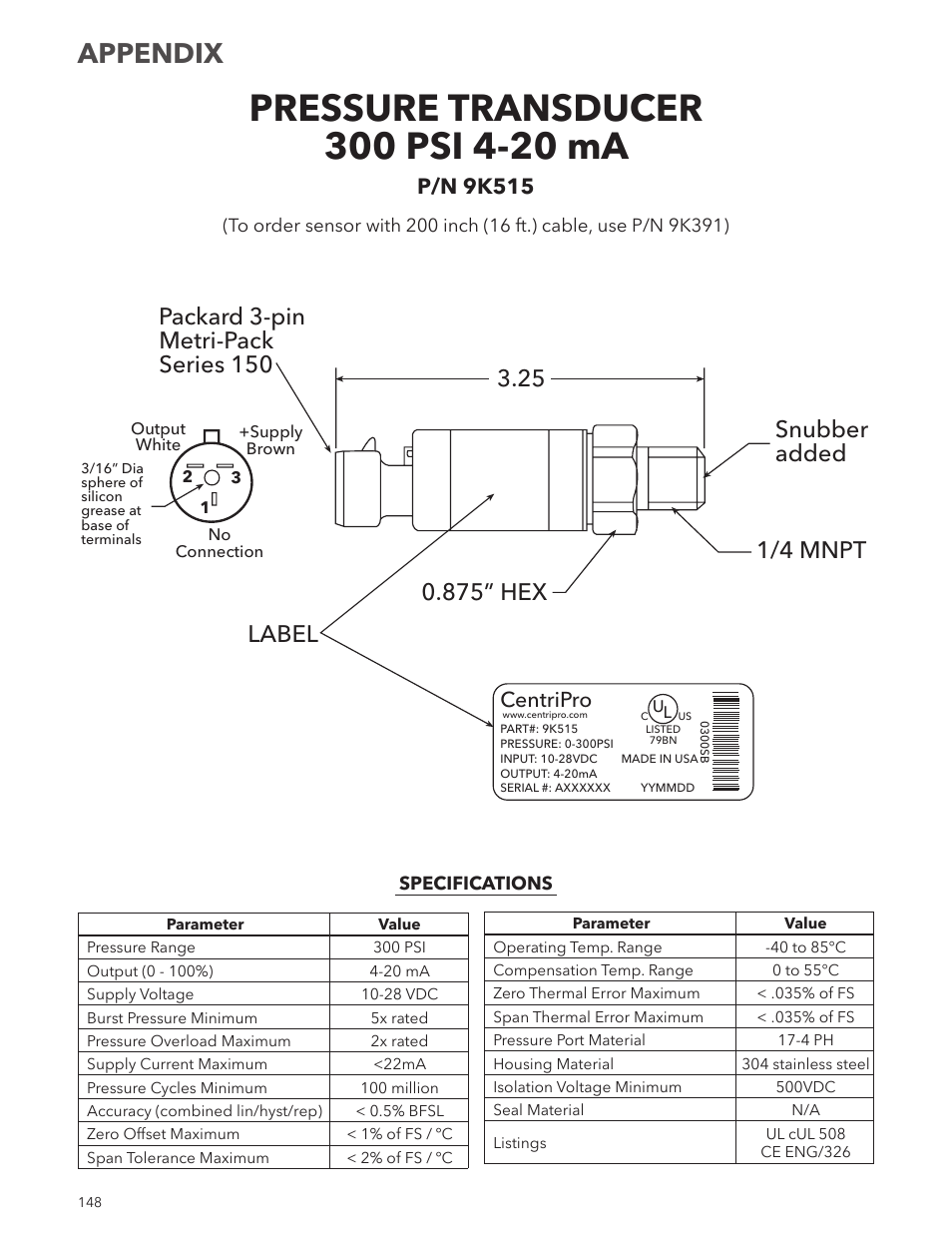 medium resolution of appendix centripro p n 9k515 xylem im167 r8 aquavar cpc centrifugal pump control user manual page 148 152