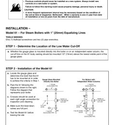 installation xylem mm 214e series 61 low water cut off user manual page 2 8 [ 954 x 1235 Pixel ]