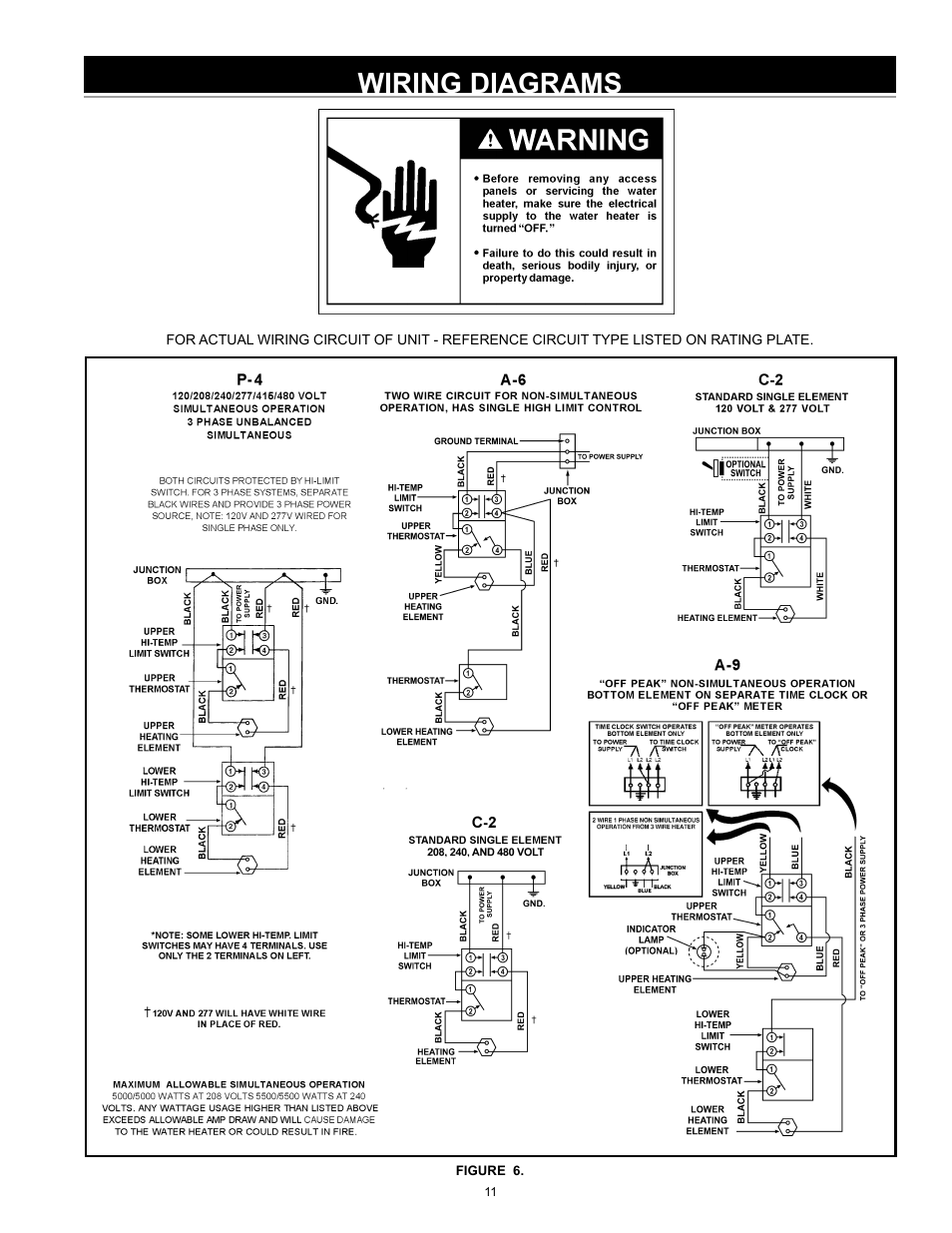 medium resolution of wiring diagrams john wood electric water heaters new user manual page 11 28