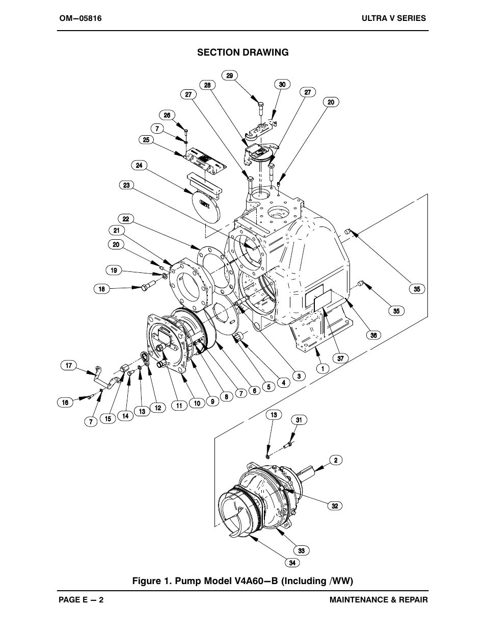 Gorman-Rupp Pumps V4A60-B 1333878 and up User Manual
