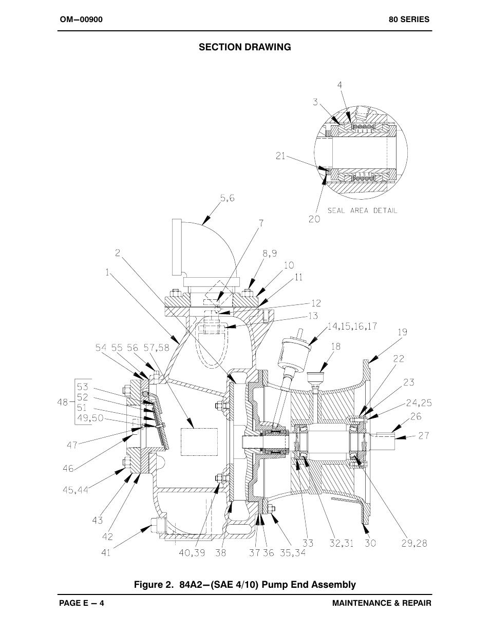 Gorman-Rupp Pumps 84A2-F3L 1348524 and up User Manual