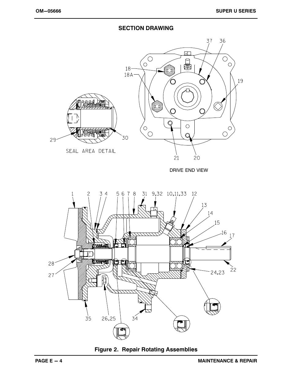 Gorman-Rupp Pumps U4B60S-B 1289525 and up User Manual