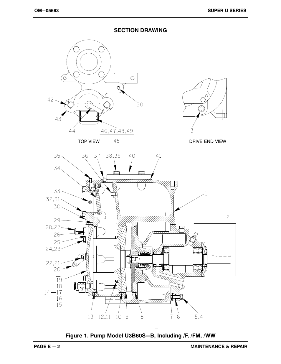 Gorman-Rupp Pumps U3B60S-B 1289509 and up User Manual