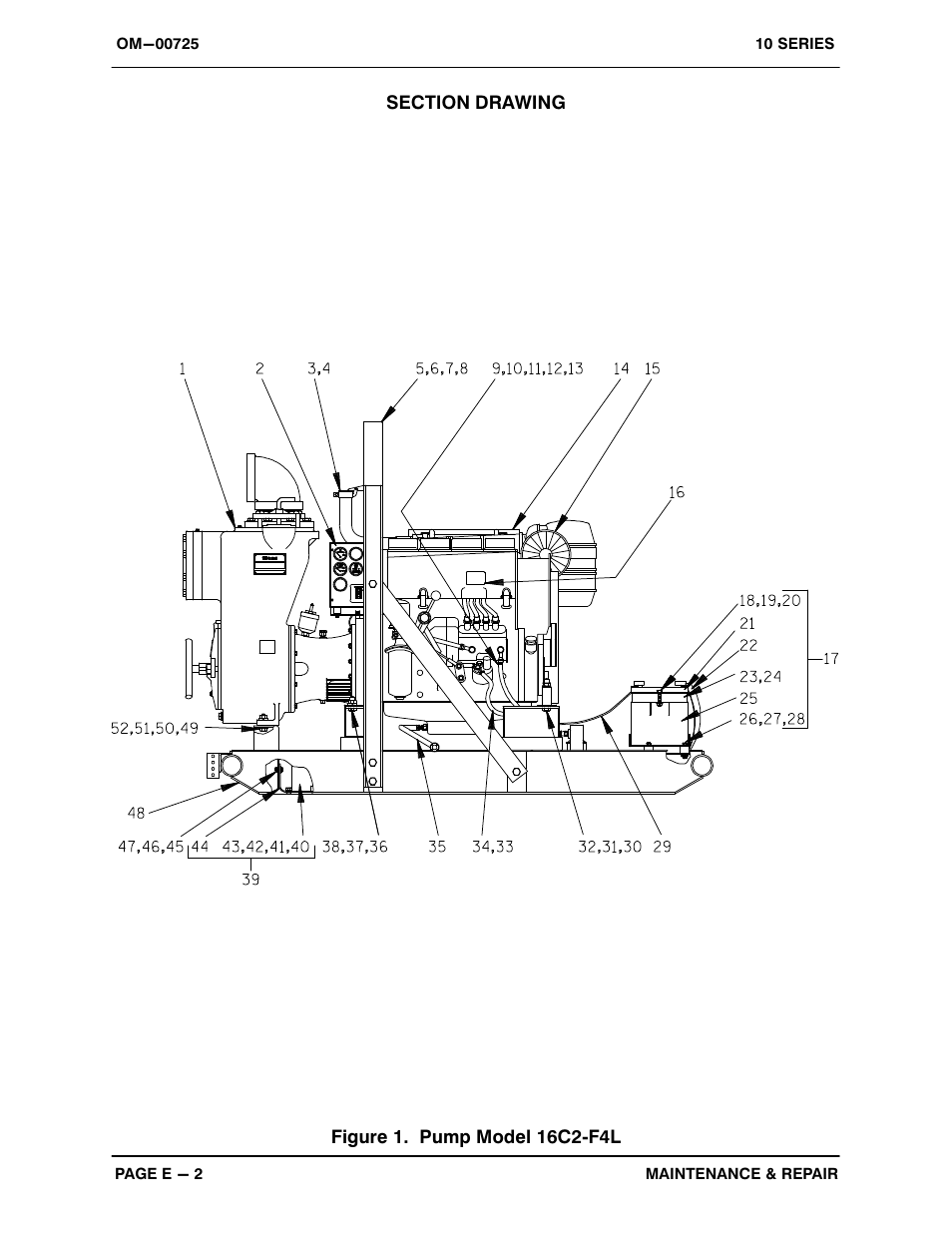 Gorman-Rupp Pumps 16C2-F4L 1319251 and up User Manual