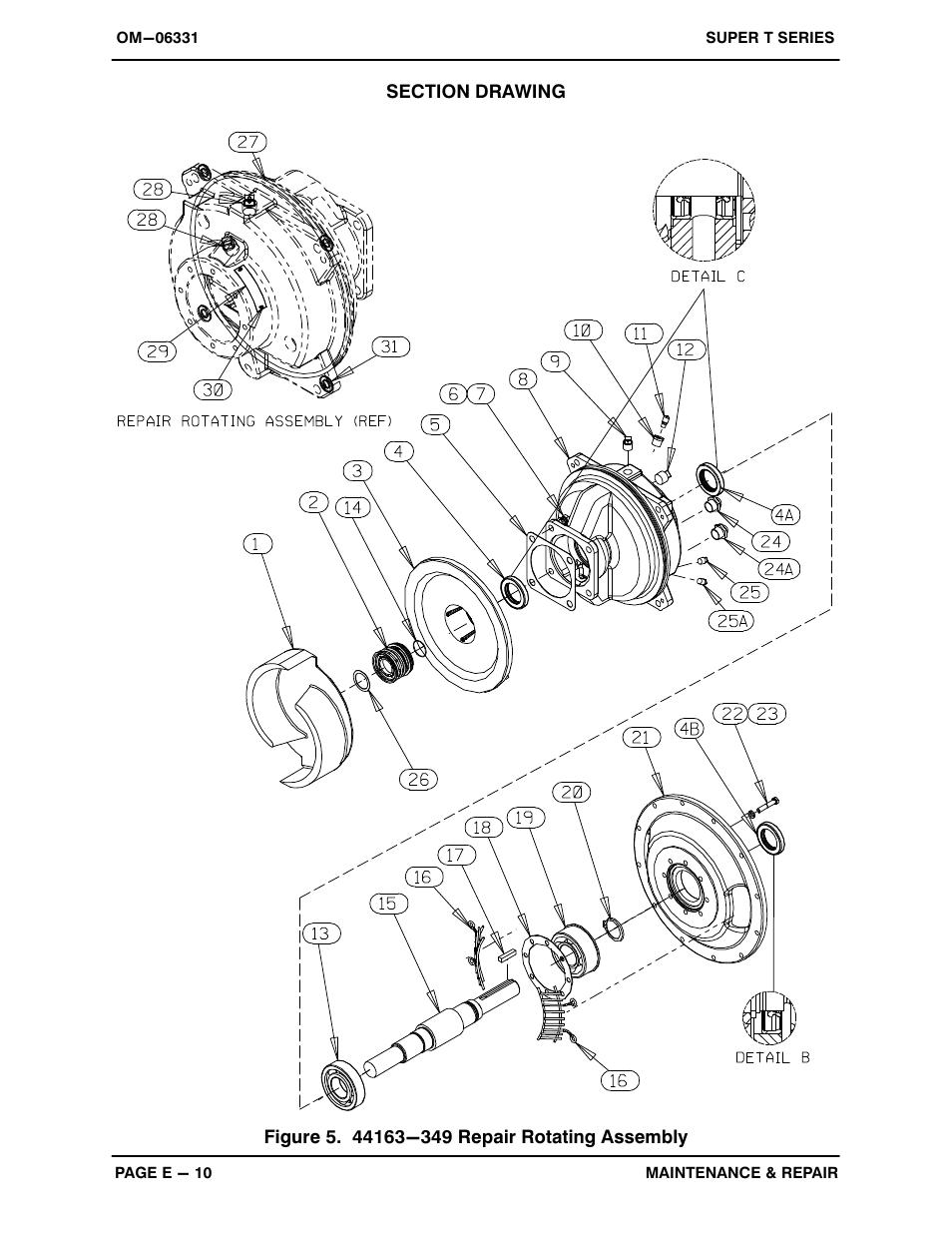 Gorman-Rupp Pumps T6A60S-4045T-ESP 1473164 and up User