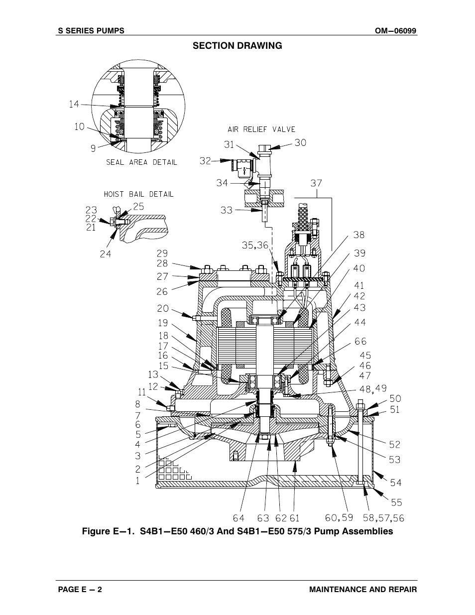 Gorman-Rupp Pumps S4B1-E50 460/3 1396095 and up User