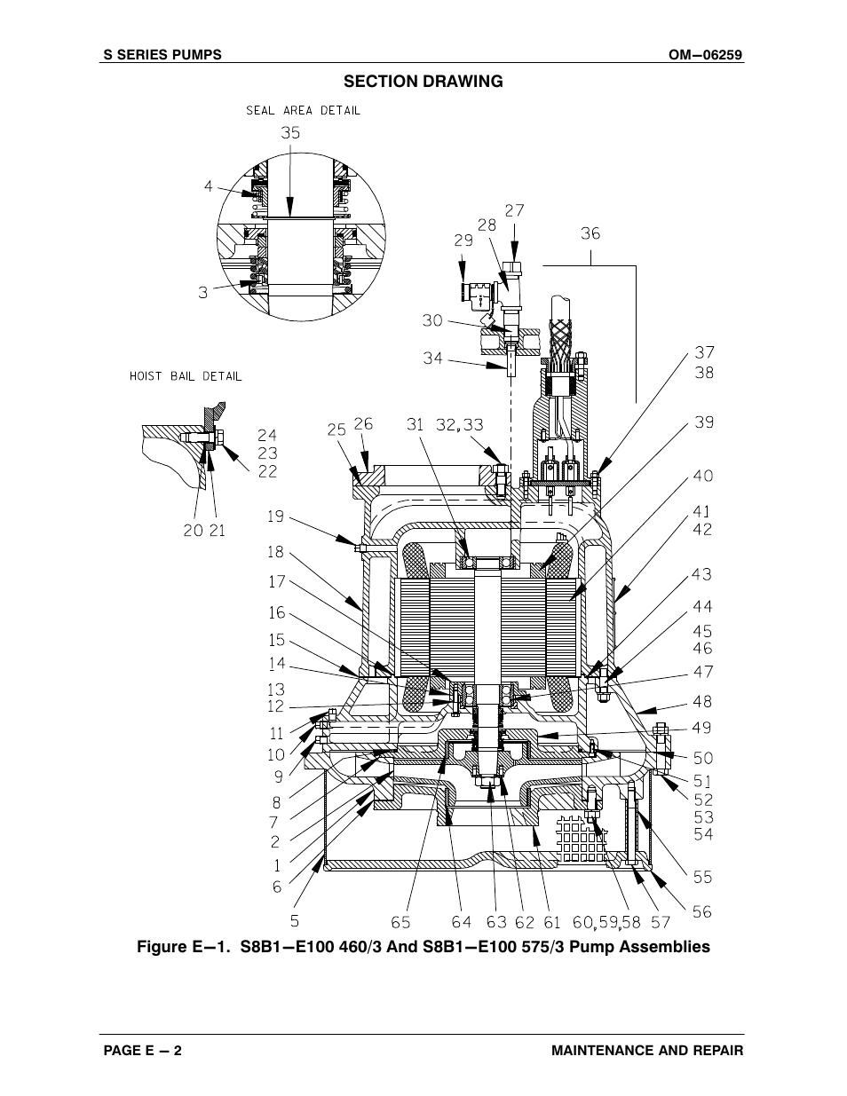 Gorman-Rupp Pumps S8B1-E100 460/3 1432260 and up User