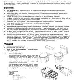 general information liberty pumps ascent ii user manual page 2 55 heat pump control wiring diagram liberty pump wiring diagram [ 954 x 1235 Pixel ]