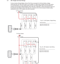 8 1 36v system single string alpha technologies dsm3 for xm3 technical manual user manual page 79 106 [ 954 x 1235 Pixel ]