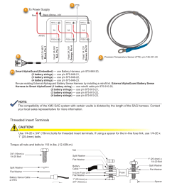 battery installation and wiring diagram threaded insert terminalsbattery installation and wiring diagram threaded insert [ 954 x 1235 Pixel ]