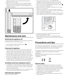 maintenance and care precautions and tips switching the appliance off indesit uiaa 10 user manual page 21 60 [ 954 x 1350 Pixel ]