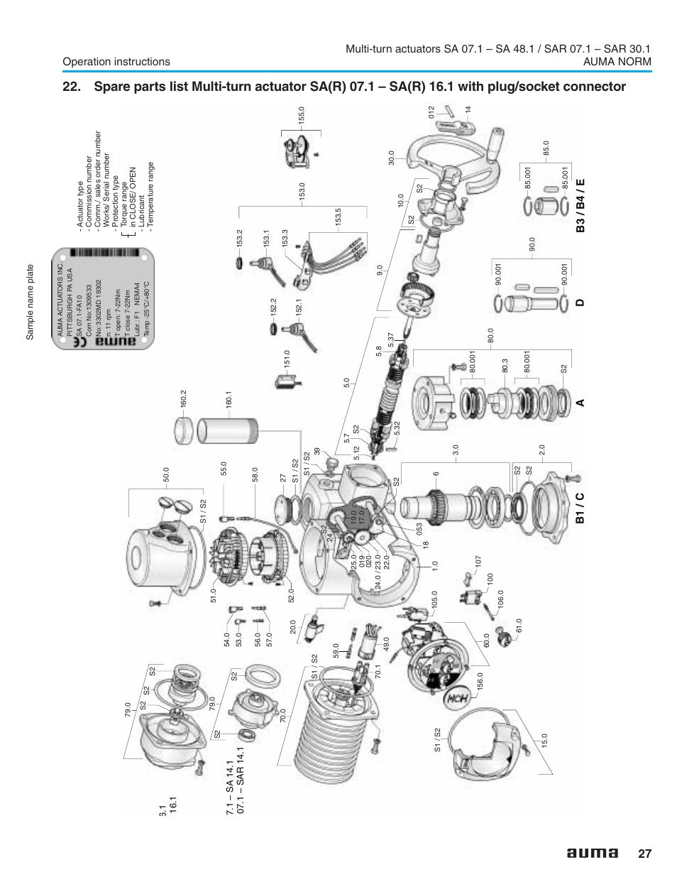 auma wiring diagram msp