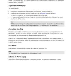 power supercapacitor charging power loss handling motec adr user manual page 19 25 [ 955 x 1350 Pixel ]