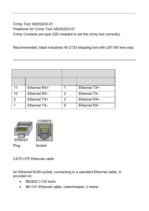 small resolution of wire stripping tool pc connection ethernet wiring schematic motec c125 user manual page 68 89