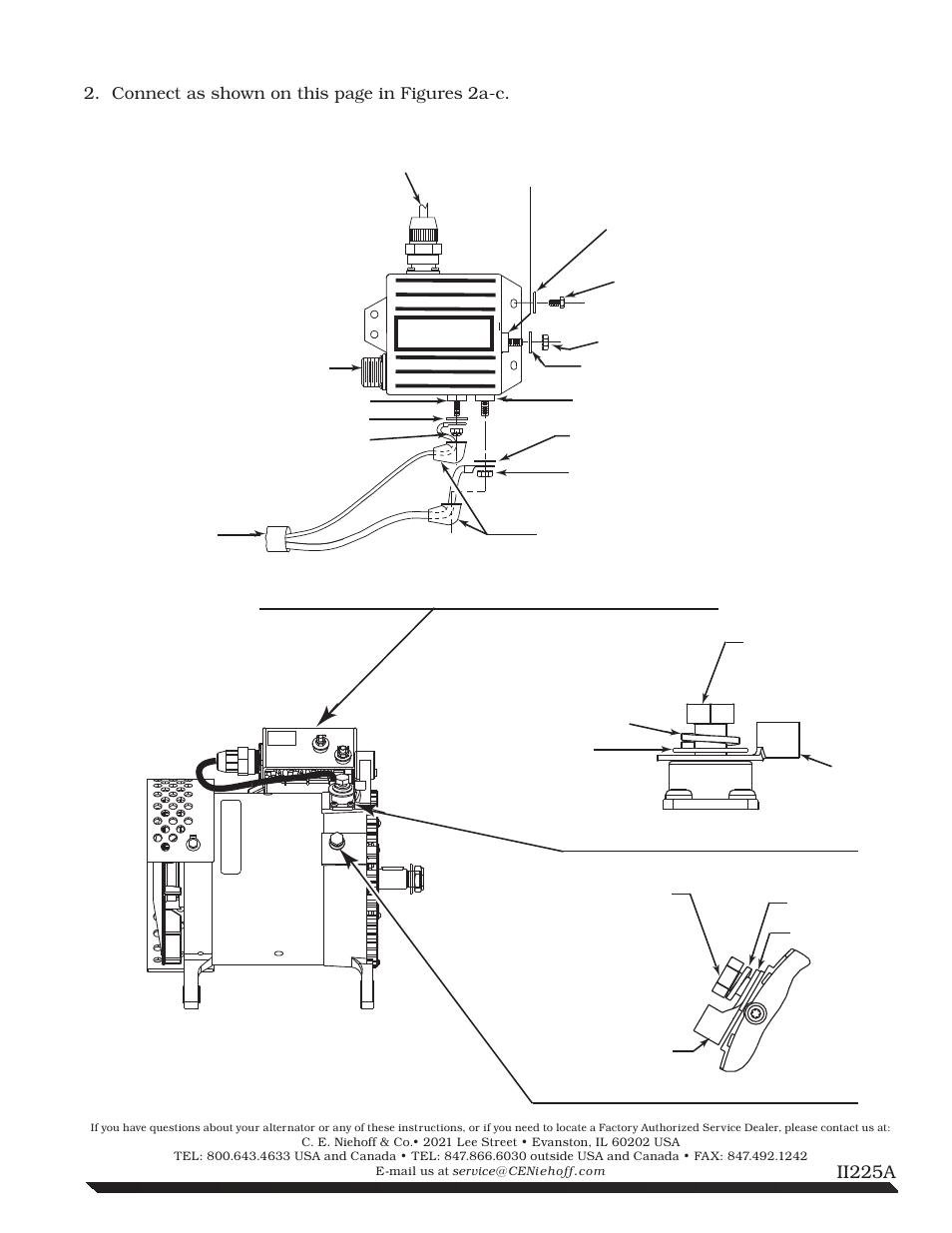 C.E. Niehoff & Co. N1225/N1387 Alternator Installation