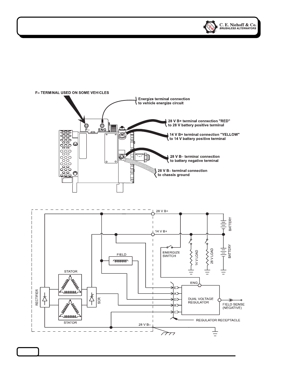C E Niehoff Amp Co N 1 Troubleshooting Guides User