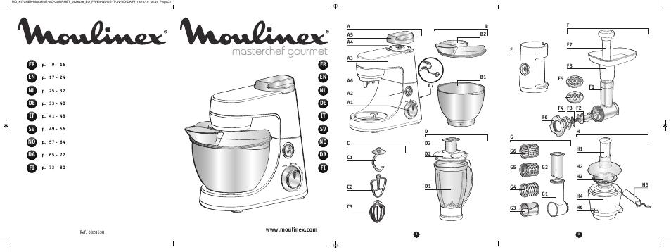 Moulinex Masterchef Gourmet. moulinex masterchef gourmet