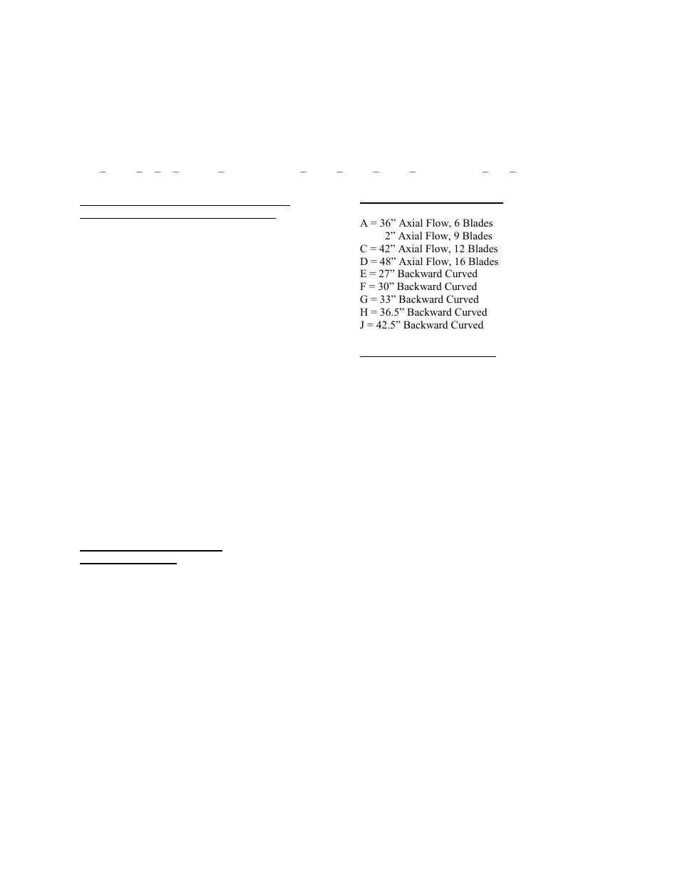 Rl series feature string nomenclature, Feature 1: return
