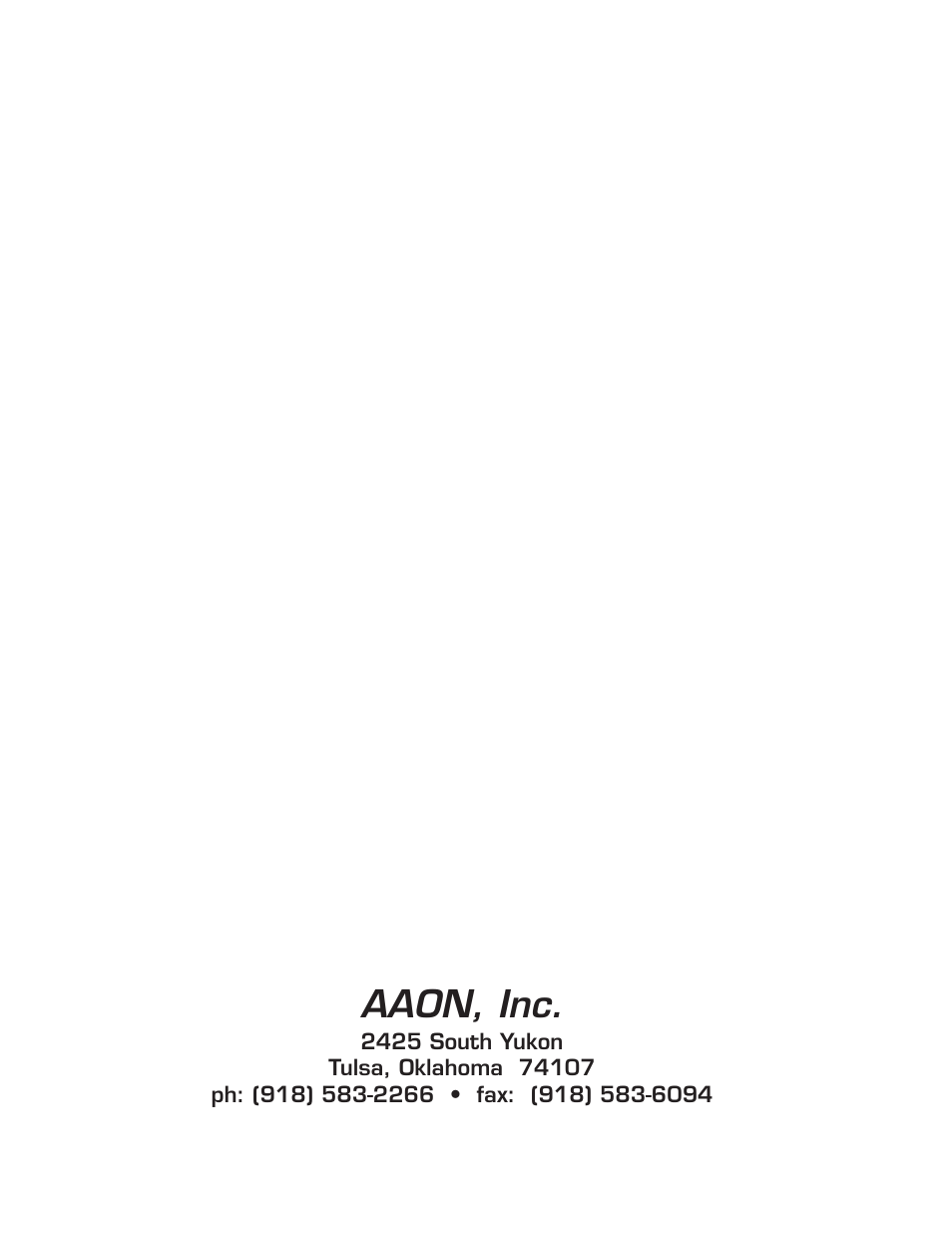 Aaon, Rooftop units • rk series users information manual