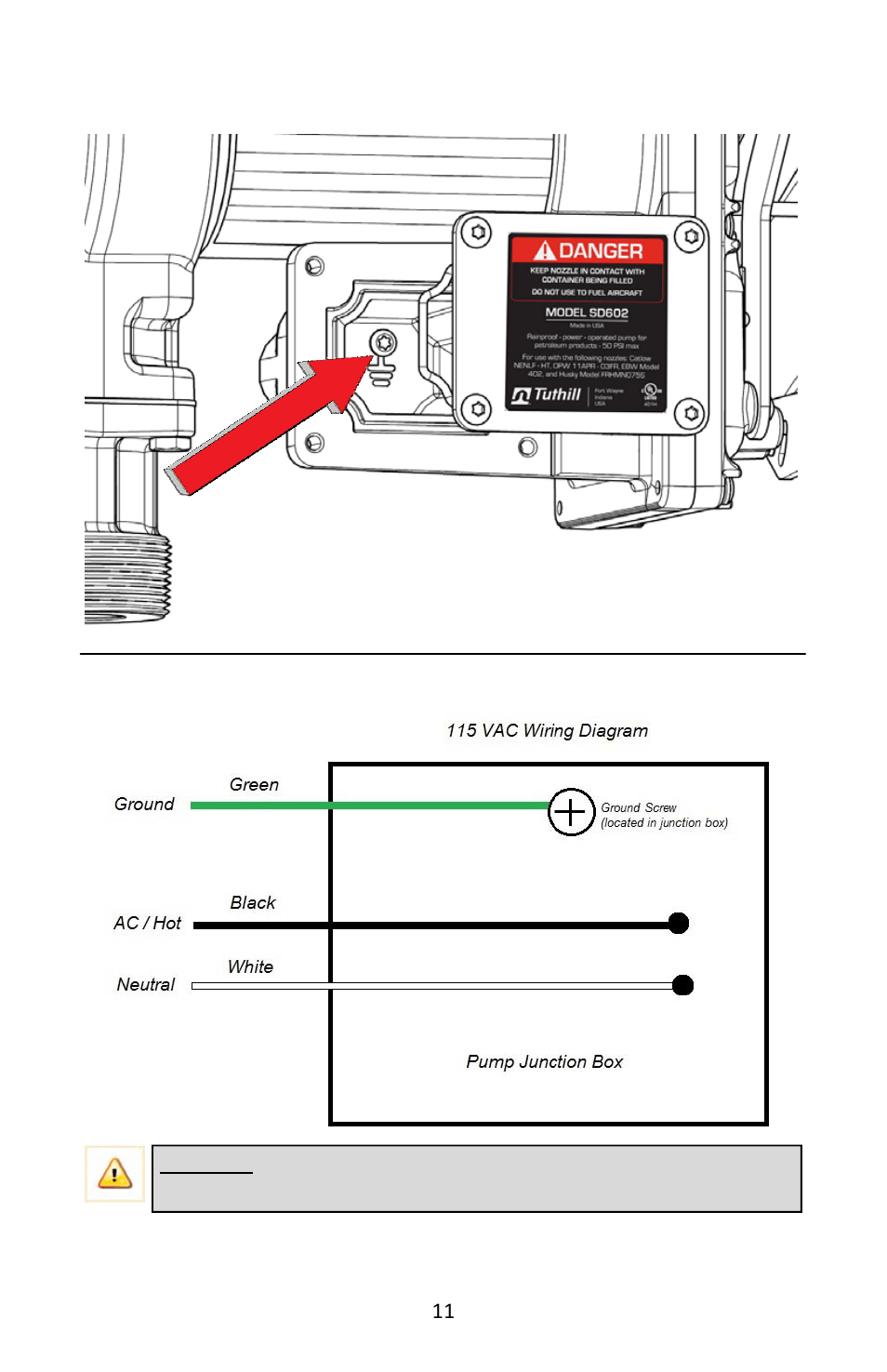 split ac wiring diagram image how many triangles are there in this pump junction box fill rite fr600g series acac