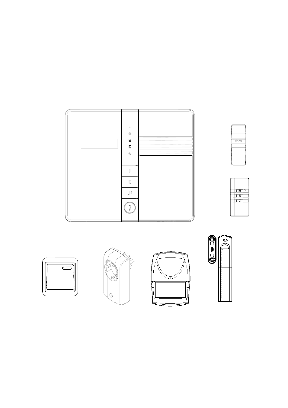 ELRO HIS20S Security & home automation system EXPANDED