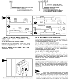 instructions for wiring humidifier e series humidistat not included 6a 6c 6b generalaire 1137 series legacy user manual page 3 4 [ 954 x 1235 Pixel ]