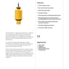 4 Wire Ultrasonic Level Transmitter Nissan 3 Engine Diagram Gf Signet 2270 Sensor User Manual Pages