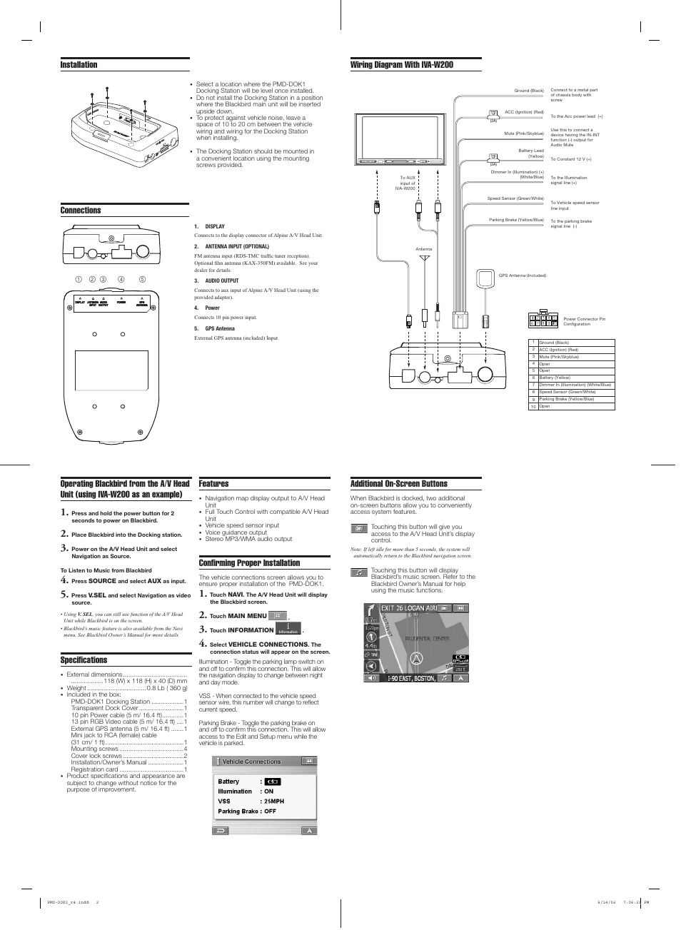hight resolution of connections wiring diagram with iva w200 specifi cations installation additional on