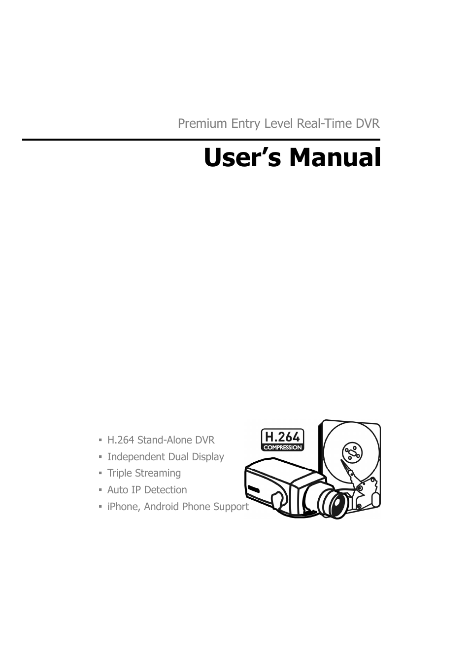 H 264 Manual Auto Electrical Wiring Diagram Farmall Md Dvr Pdf