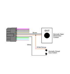 request to exit wiring diagram [ 954 x 1475 Pixel ]