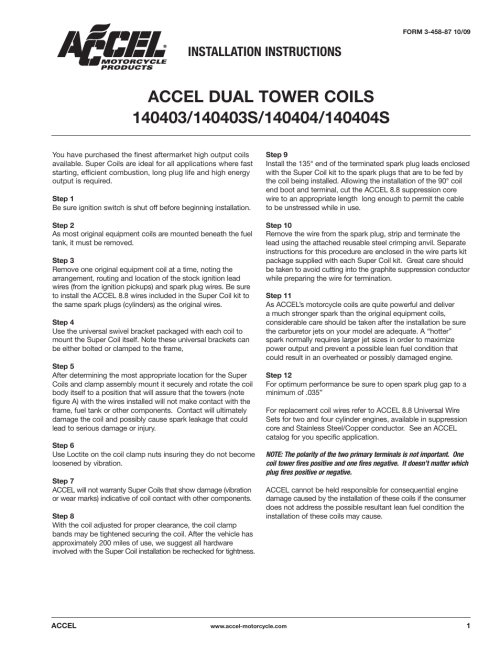 small resolution of mallory ignition accel dual tower coils 140403 140403s 140404mallory ignition accel dual tower coils 140403 140403s