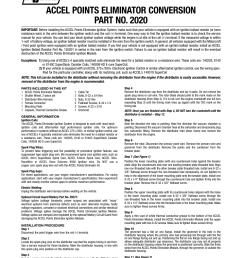 accel points eliminator wiring diagram wiring library rh 96 evitta de accel 2020 points eliminator accel points eliminator conversion kit [ 954 x 1235 Pixel ]