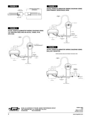 Figure 3, Figure 2, Distributor wire harness | Mallory