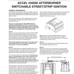 Accel Ignition Wiring Diagram Sears Kenmore Refrigerator Parts Distributor And Schematics Free For You U2022 Coil