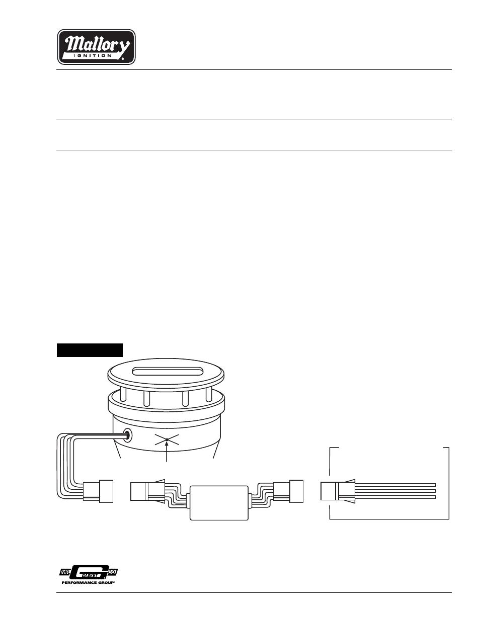 Perfect Mallory Unilite Distributor Wiring Diagram Gift - Wiring ...