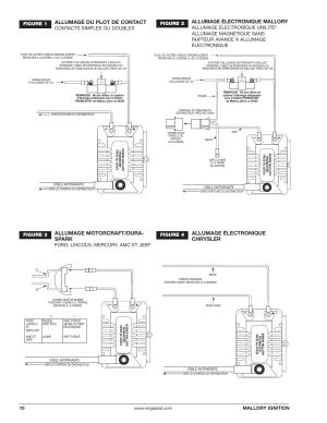 Allumage du plot de contact, Allumage électronique mallory