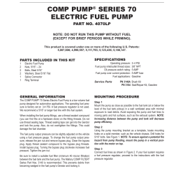 mallory ignition mallory comp pump series 70 electric fuel pump 4070lp user manual 4 pages [ 954 x 1235 Pixel ]