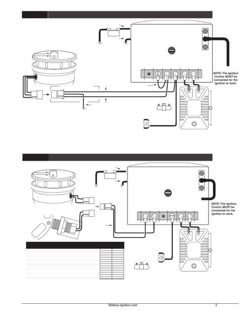 small resolution of mallory ignition wiring diagram 29440 mallory dist wiring