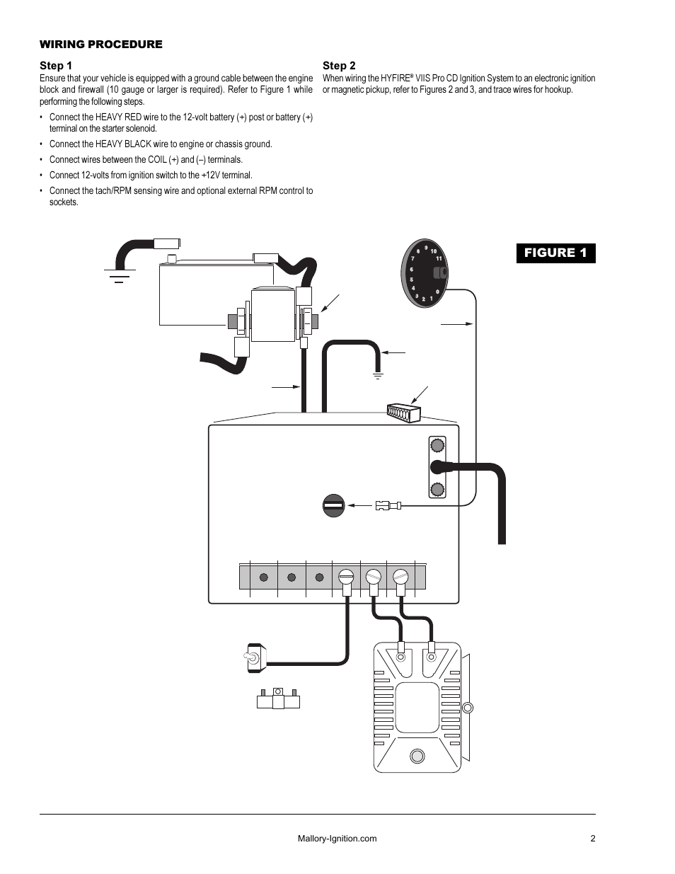 medium resolution of mallory hyfire ignition wiring diagram