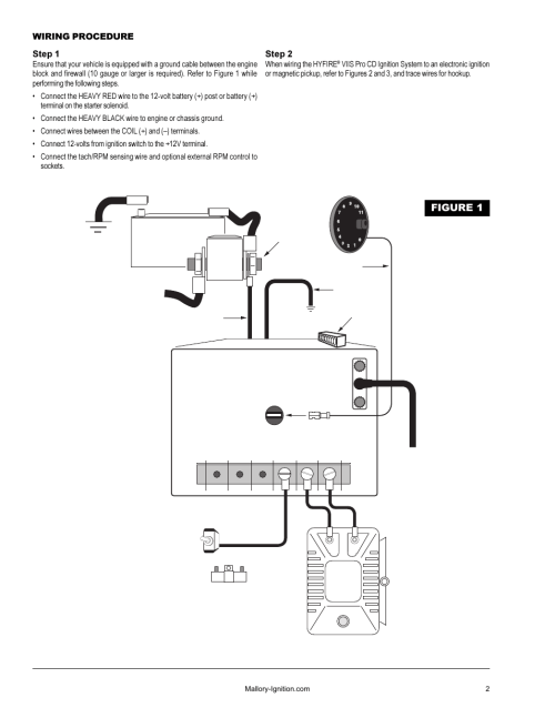 small resolution of mallory hyfire ignition wiring diagram