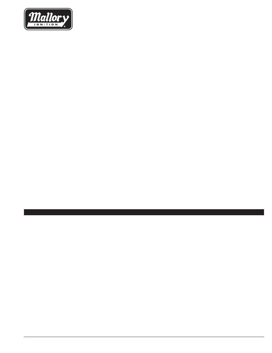 medium resolution of mallory 685 ignition wiring diagram wiring diagrams rh 4 4 51 jennifer retzke de mallory hyfire