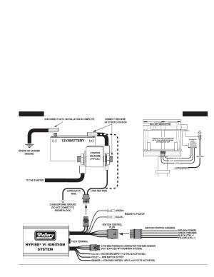 Basic wiring procedure | Mallory Ignition Mallory HYFIRE