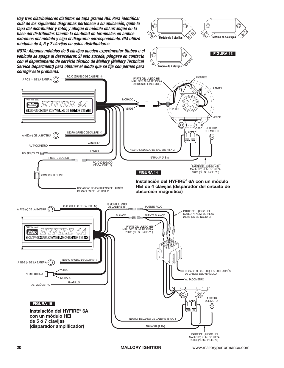 Mallory Hyfire 6a Wiring Diagram - on