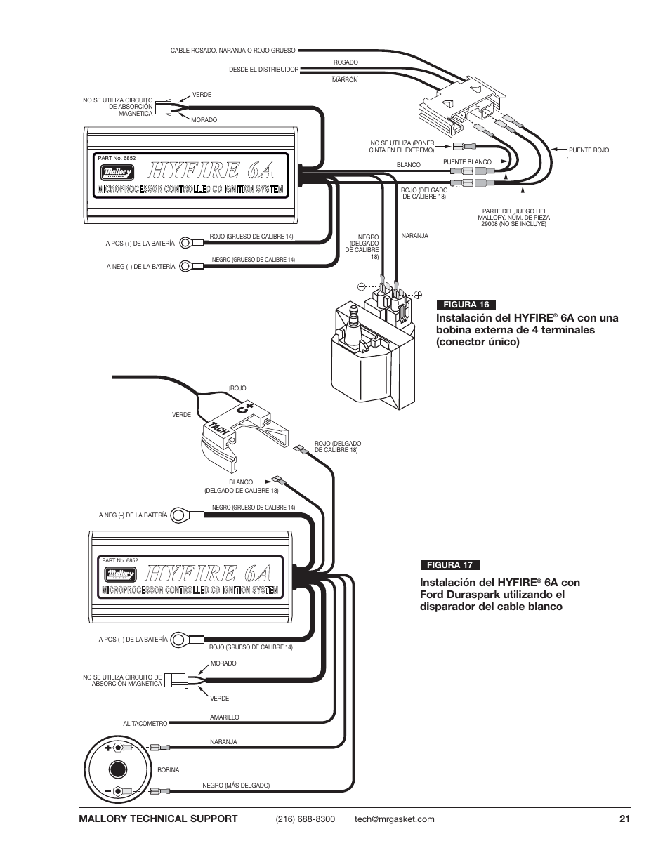 Mallory Ignition Hyfire Wiring Diagram Wiring Diagram And