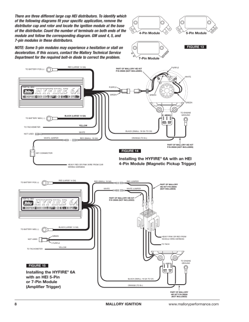 small resolution of mallory hyfire6a wiring diagram wiring diagram mallory hyfire ignition wiring diagram